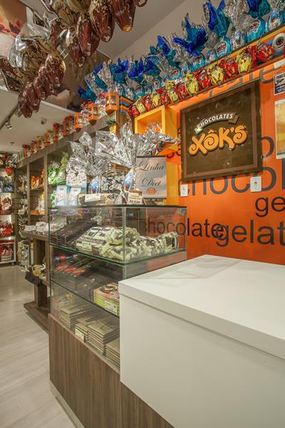 Xok´s Chocolateria e Gelateria - Shopping Total - Porto Alegre / 2013